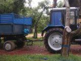 Аренда трактора с прицепом