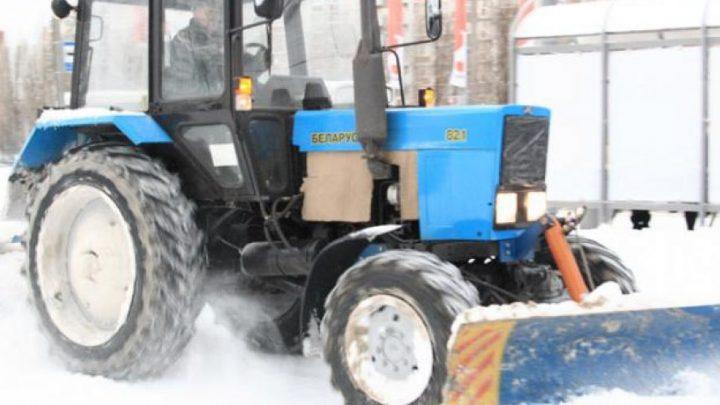 Профессиональная уборка снега
