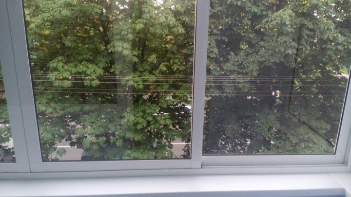 Мойка стекол и уборка балкона